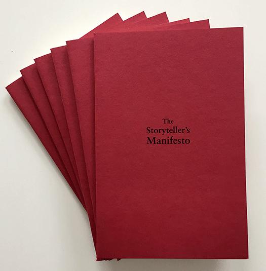 Storytellers Manifesto Book