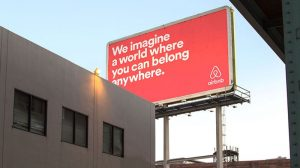 Brand Story Hero - Belong Anywhere Billboard