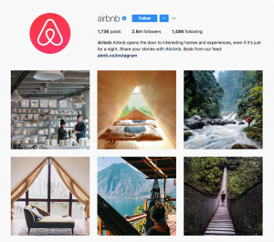 Brand Story Hero Airbnb - Instagram