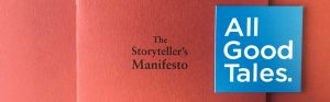 Story of Storyteller's Manifesto Header