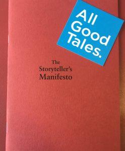 Storyteller's Manifesto