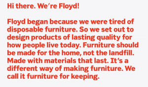 Floyd Furniture